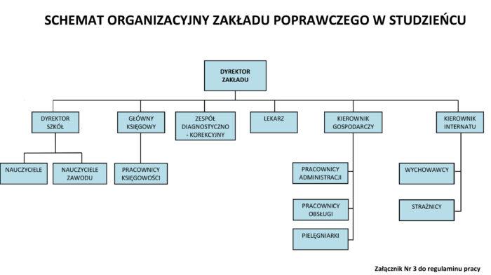 Schemat organizacyjny ZP Studzieniec