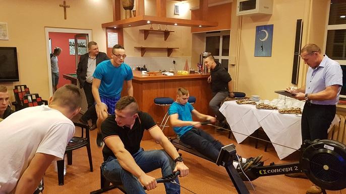 Zawody na ergometrach wioślarskich 2019