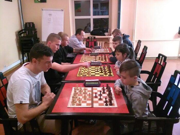 Mecz szachowy z UKS Hetman