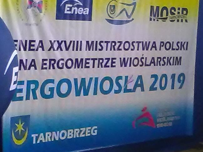 Mistrzostwa Polski na ergometrze wioślarskim