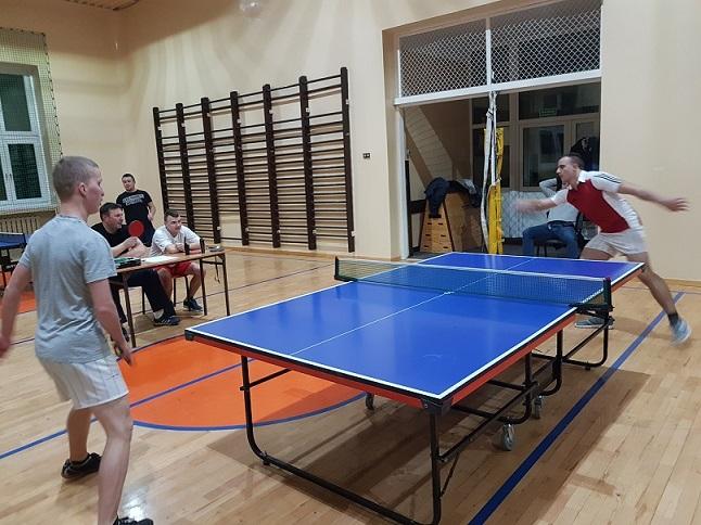 Zakładowy Turniej Tenisa Stołowego