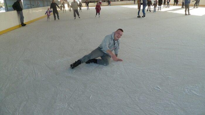 Wycieczka na lodowisko