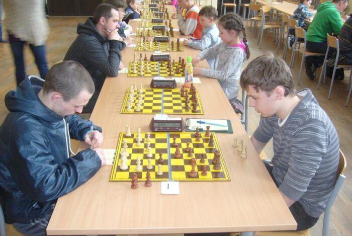 Działalność kółka szachowego w 2013 r.