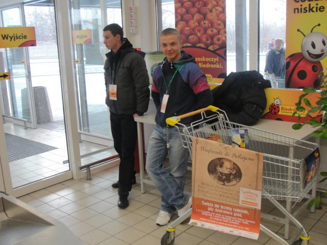 Zbiórka żywności 2012