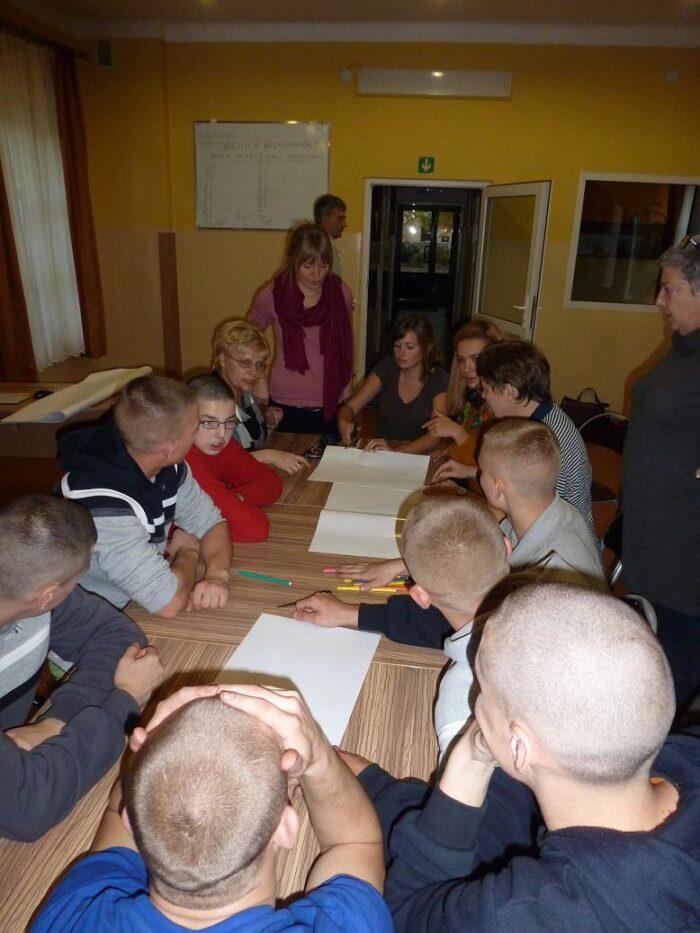 Wizyta studentów niemieckich