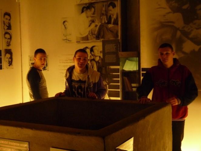 Wizyta VI grupy internatowej w muzeach Warszawy