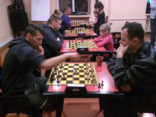 Rewanżowy mecz szachowy z UKS Hetman