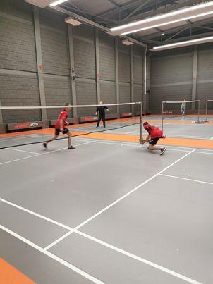Warszawski trening badmintona