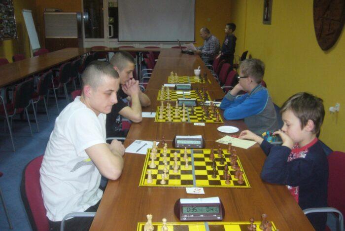 Turniej szachowy - styczniowe rozgrywki