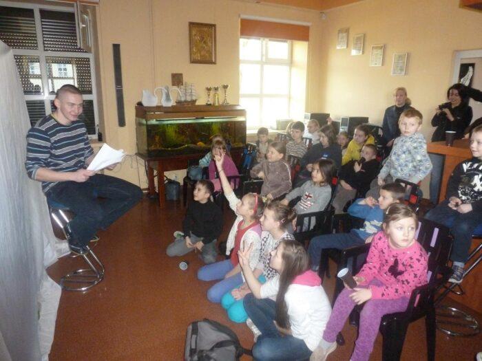 Spotkanie z dziećmi ze Świetlicy Profilaktyczno-Wychowawczej w Żyrardowie