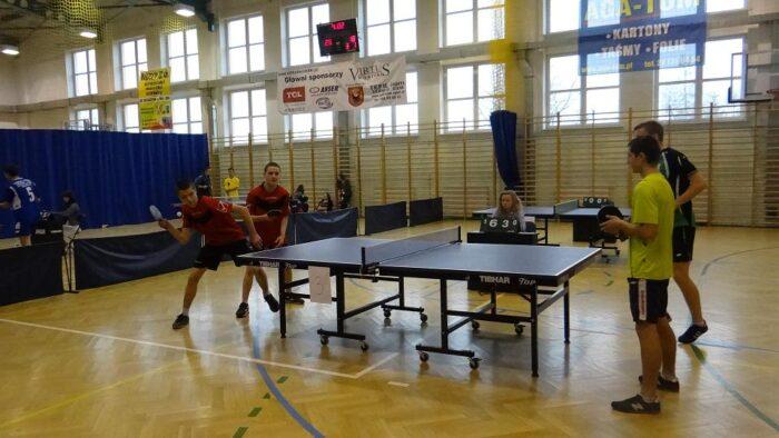 Powiatowe zawody w tenisie stołowym