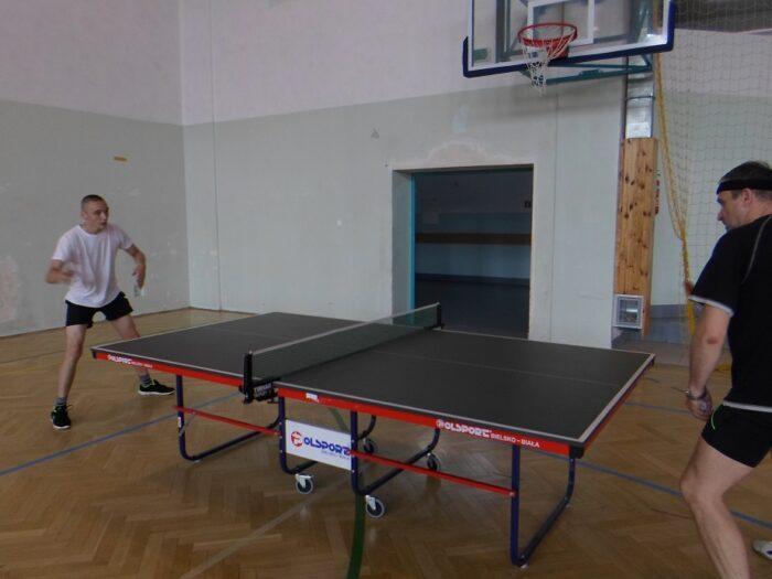 Turniej tenisa stołowego z okazji Dnia Dziecka
