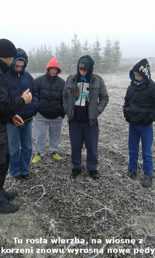 Zapoznanie z warsztatem pracy wikliniarza i plecionkarza – wycieczka wychowanków grupy zawodowej ogrodnik