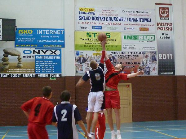 Zawody w koszykówce - Żyrardów